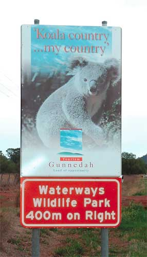 Waterways Wildlife Park - Yamba Accommodation