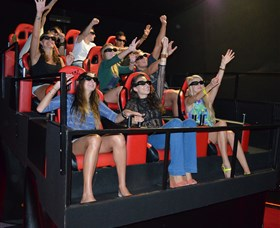 7D Cinema - Virtual Reality - Yamba Accommodation