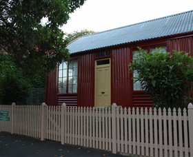 19th Century Portable Iron Houses - Yamba Accommodation